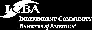 ICBA Logo White Small Logo